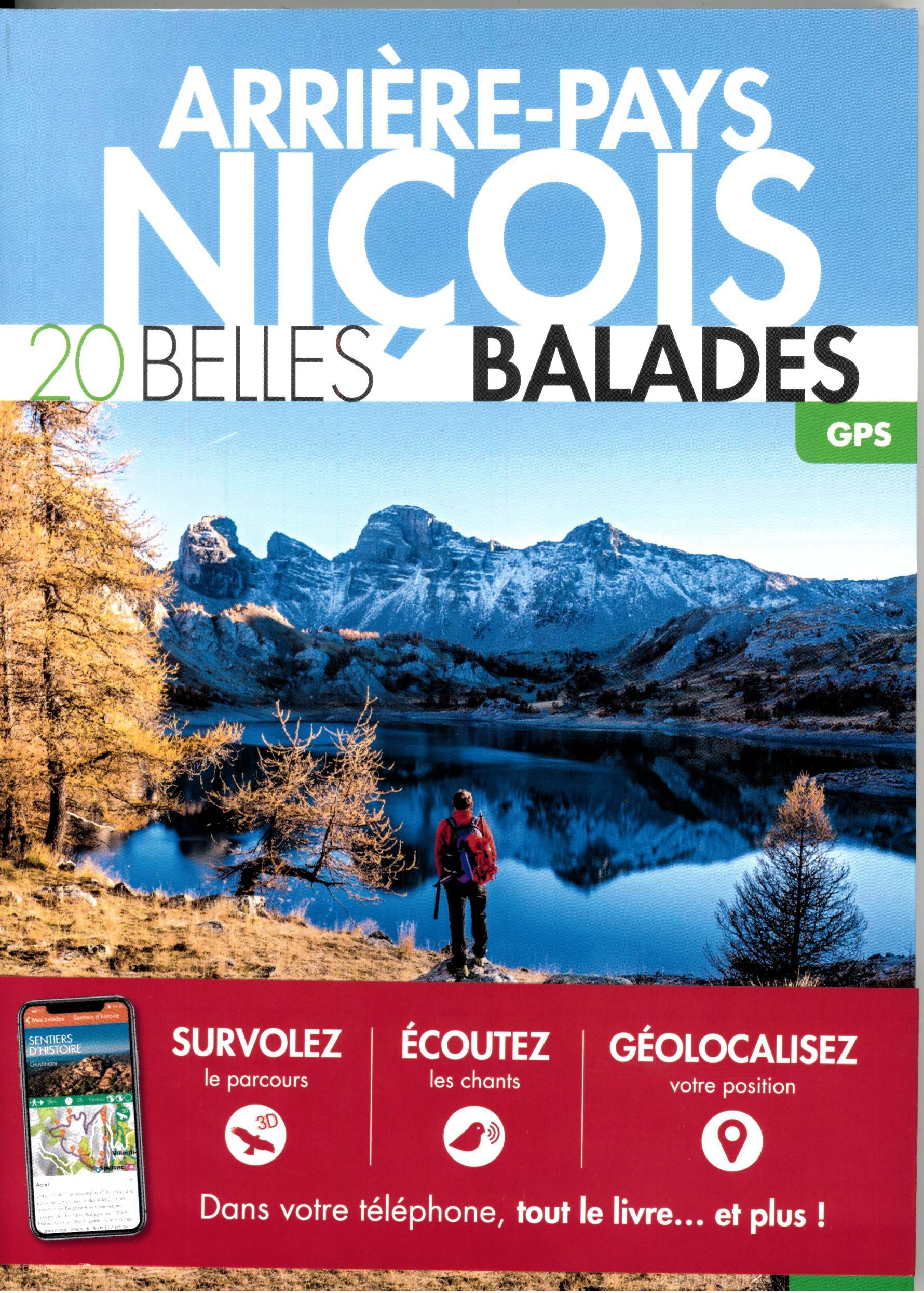 ARRIERE PAYS NICOIS 20 BELLES BALADES