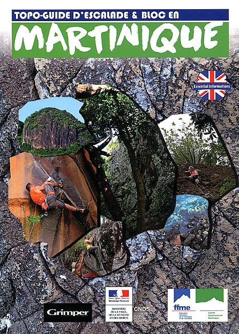 Martinique topo guide d'escalade et bloc