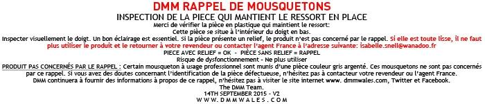 Ban - AVC Rappel DMM - Terre - Materiel - Mousqueton