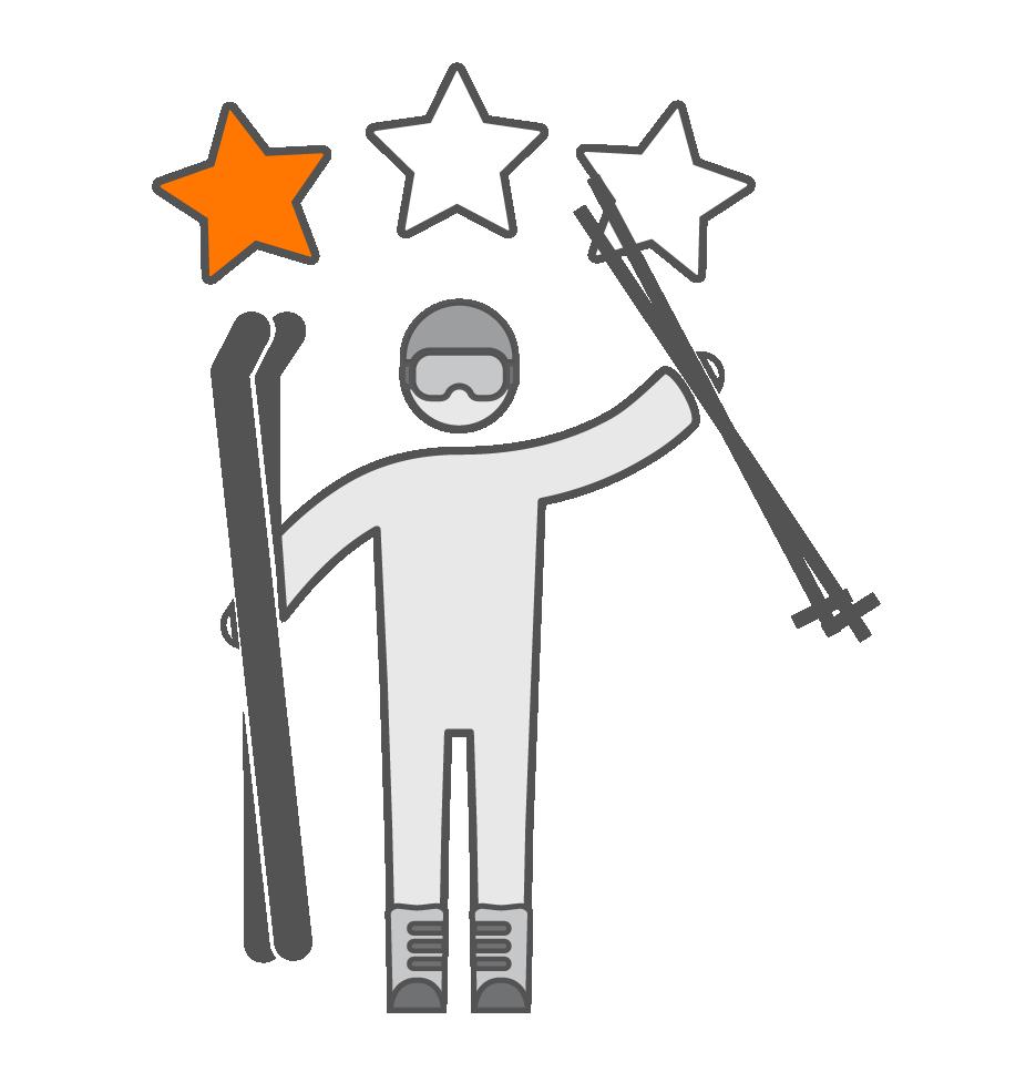 Matériel de ski pour débutants