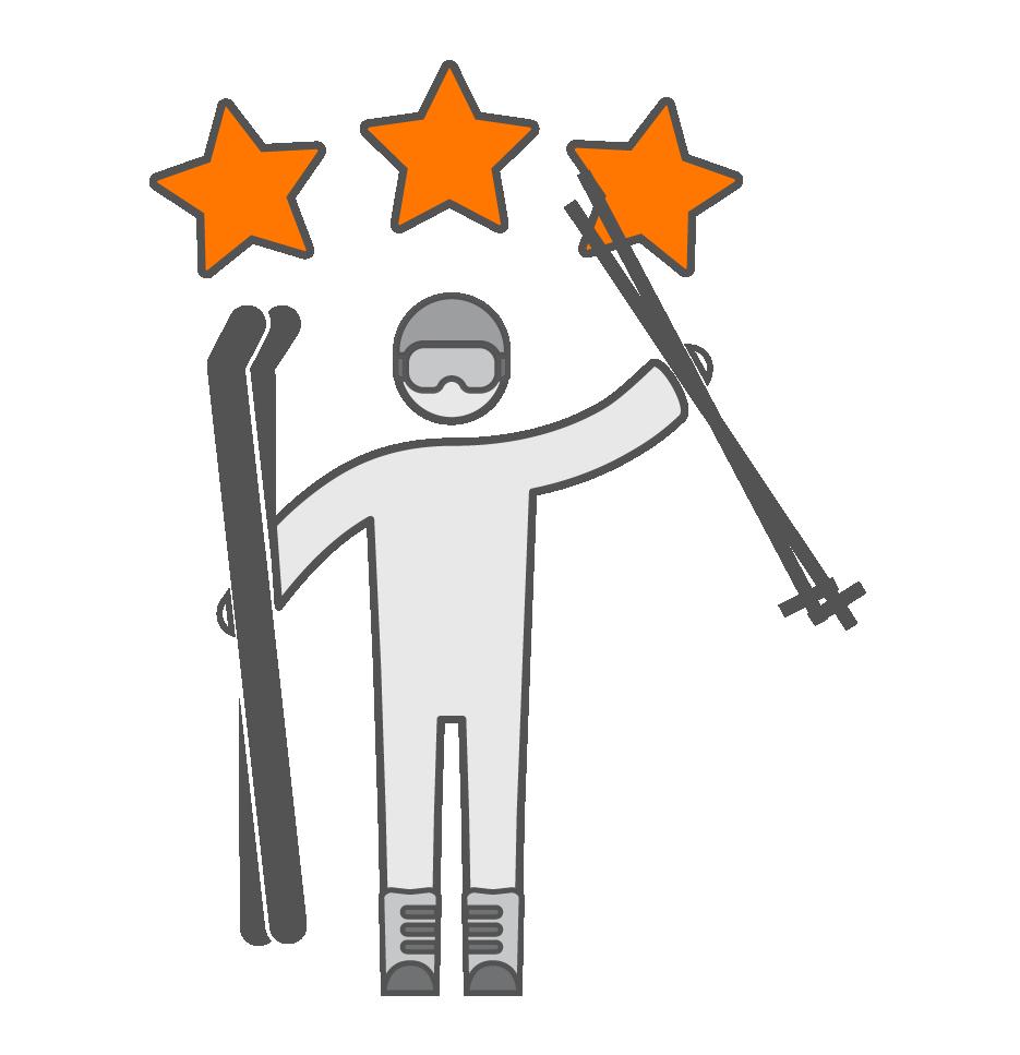 Matériel de ski niveau confirmé