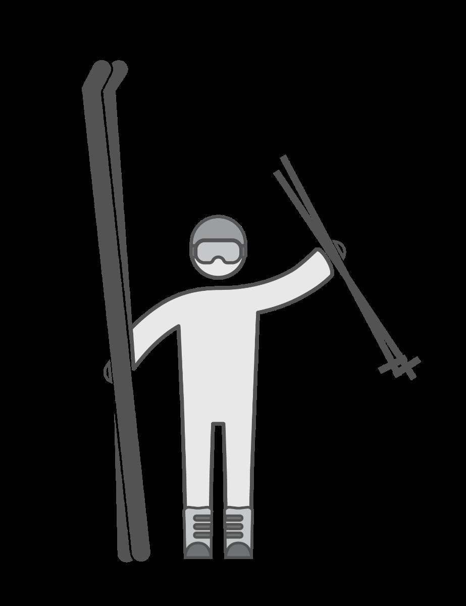 Matériel de ski Au Vieux Campeur depuis 1941