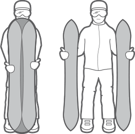 Planches de splitboard