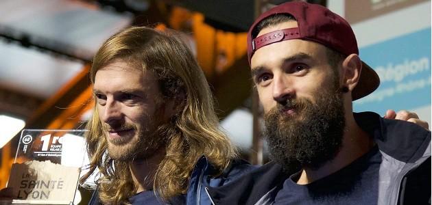 Guillaume Peretti et Yoann Stuck sur la Sainté Lyon : un duo gagnant !