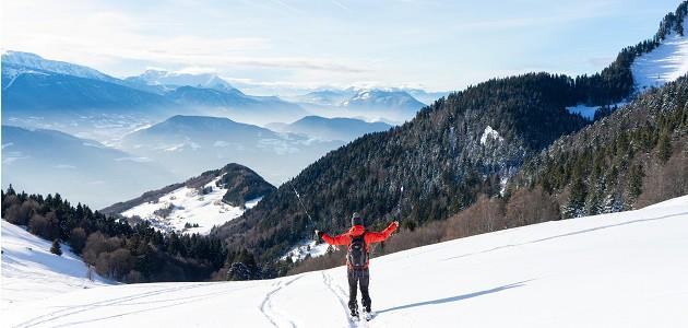Comment continuer à randonner avec la neige ?