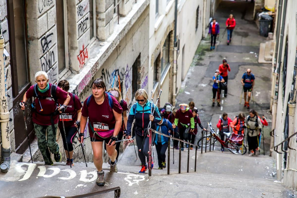 Nordic Walk In Lyon
