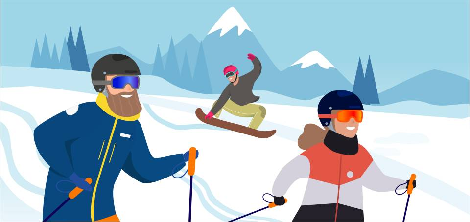 Conseils Casque de ski et de snowboard